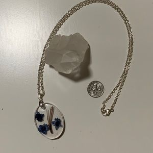 Jewelry - Floral sterling necklace